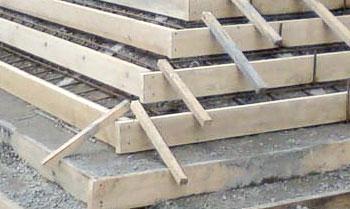 Схема бетонного основания под тротуарную плитку