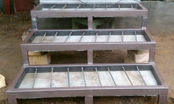 Металлический каркас для укладки плитки