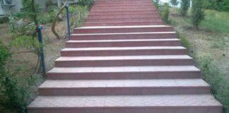 ступени из тротуарной плитки