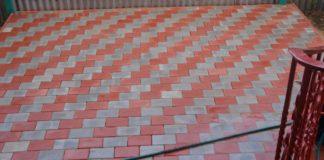 вибролитая тротуарная плитка