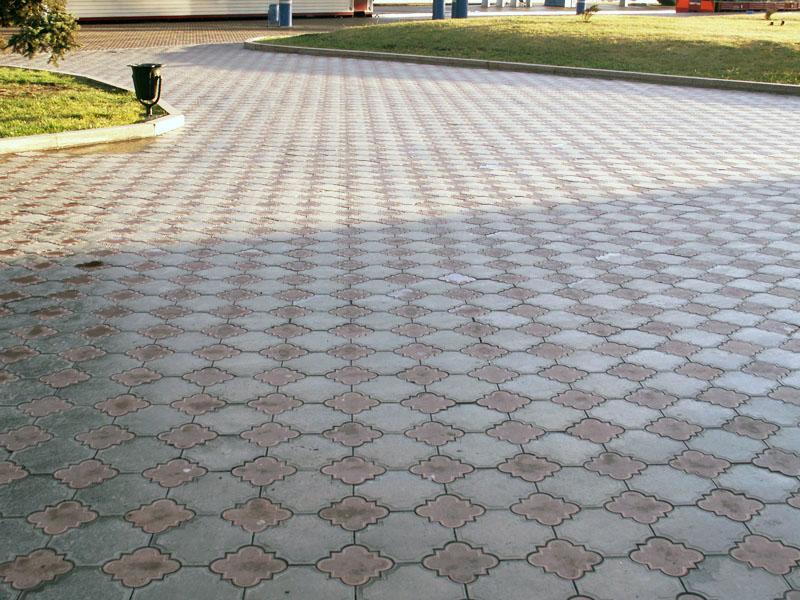 тротуарная плитка гжелка
