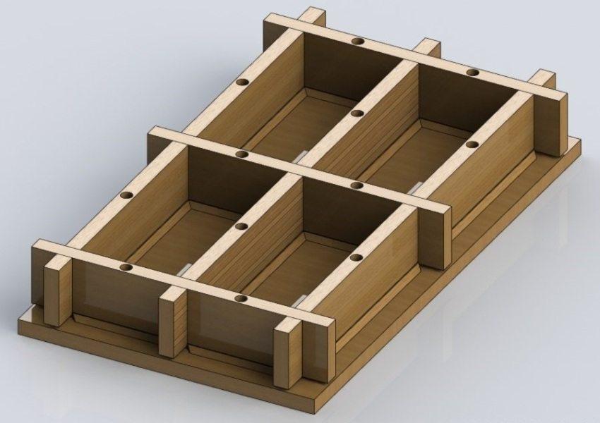 готовая деревянная форма