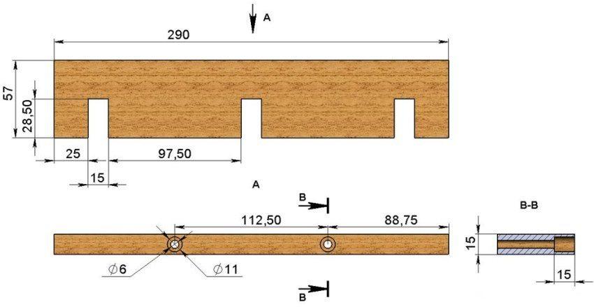поперечная форма стенки