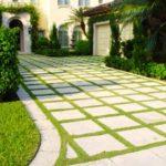 садовые дорожки из бетонных плит