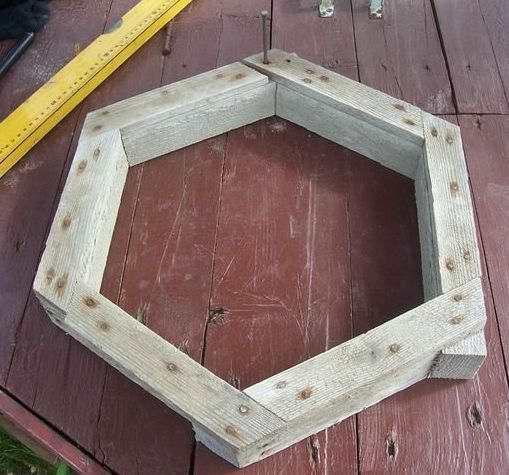 шаг 3, изготовление тротуарной плитки