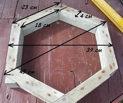 шаг 6, изготовление тротуарной плитки